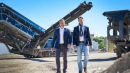 Ralf Sojka und Dr. Dirk Sojka (CFA) | Geschäftsführende Gesellschafter der WWB Tiefbaugesellschaft mbH, Krunkel (Westerwald), Mandant seit 2018